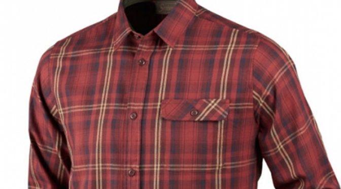 Ciepła, bawełniana koszula myśliwska